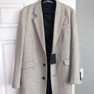 ASOS Frost Donegal/ Grey/ Cream Coat